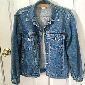 90's Vintage Denim Jacket 100% Cotton